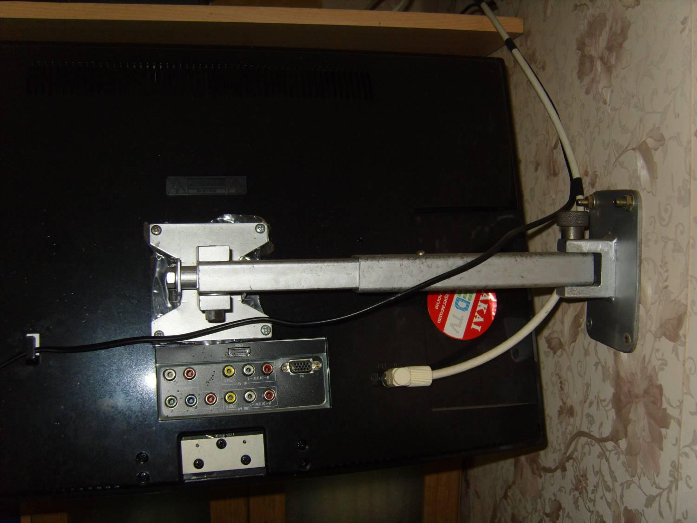 Как сделать кронштейн для жк телевизора на стену своими руками