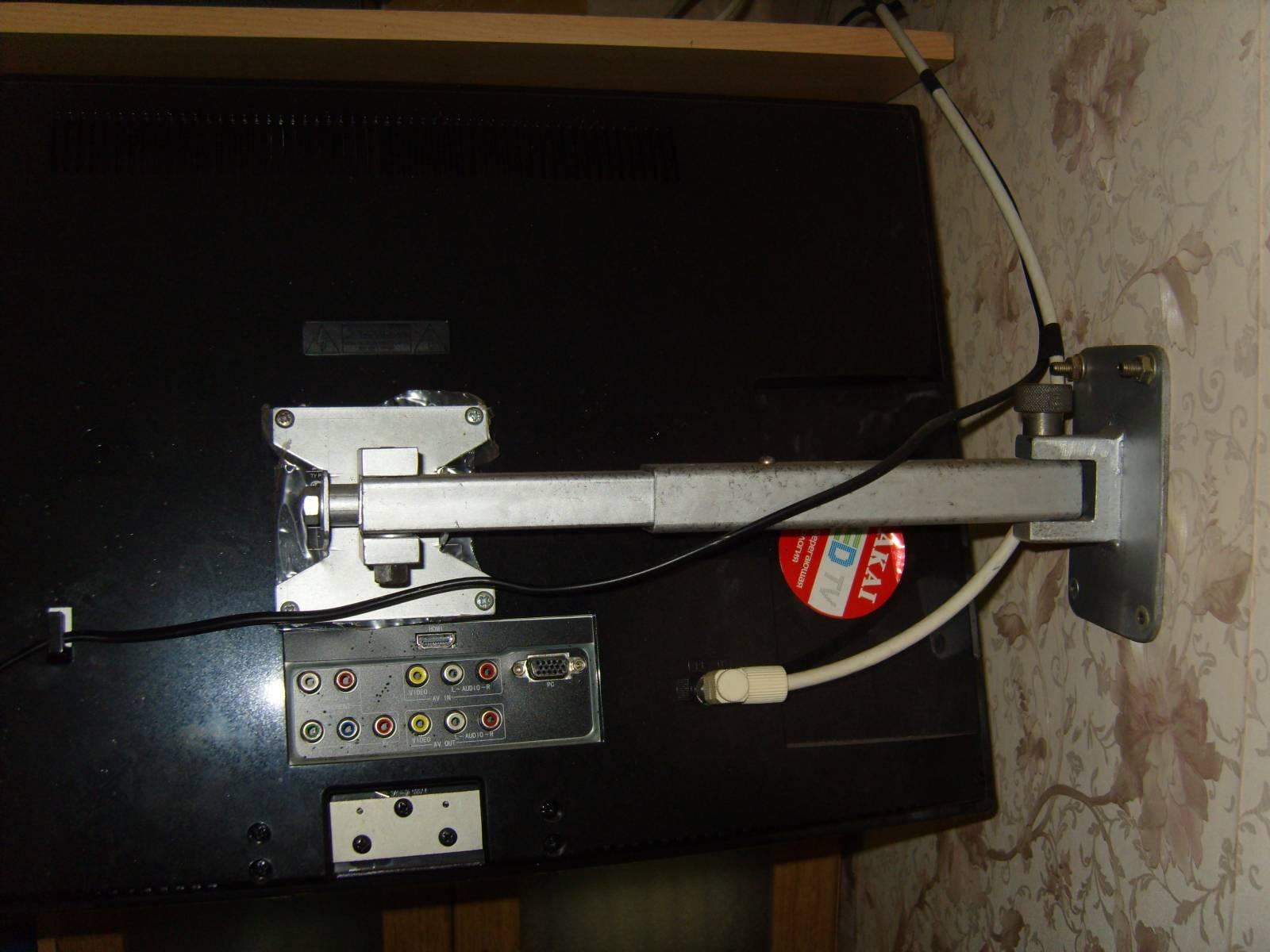 Кронштейн для телевизора 43 дюйма своими руками